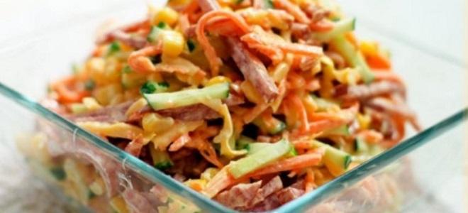 новогодний серпантин салат