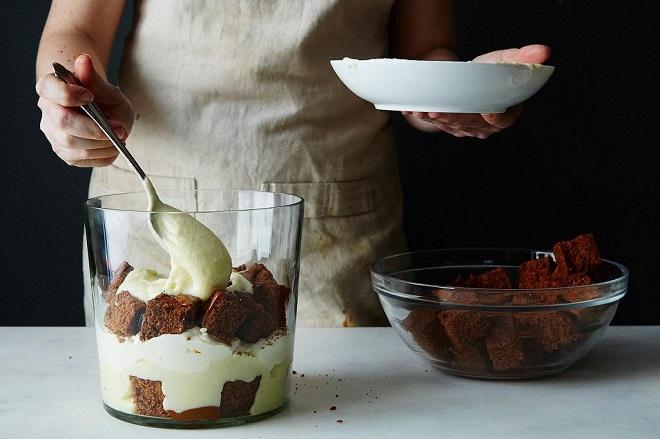 Новогодний торт без выпечки