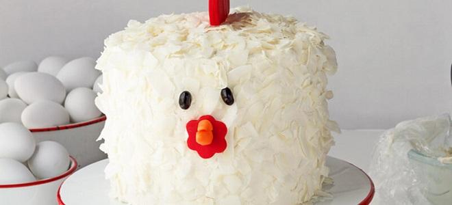 Новогодний торт «Петух»