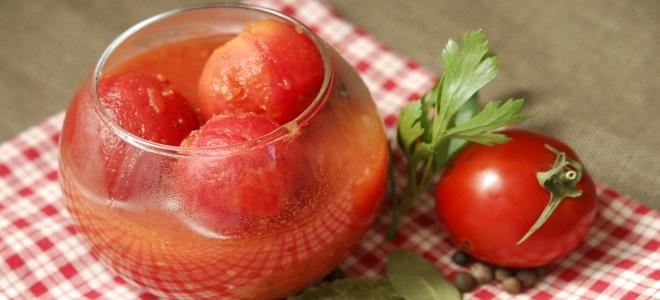 очищенные помидоры в собственном соку на зиму