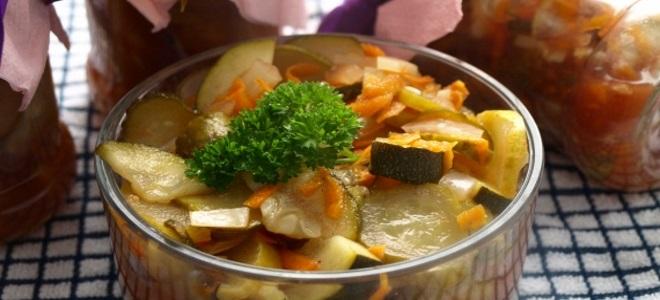 огурцы с кабачками по корейски на зиму