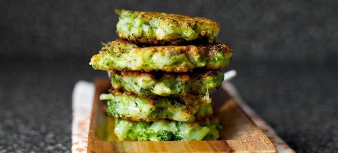 оладьи с броколли простой рецепт