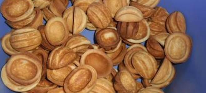 Орешки без начинки - рецепт