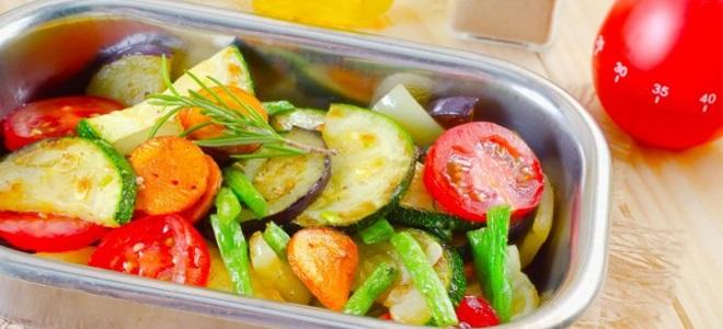 Лучшие рецепты овощей в духовке