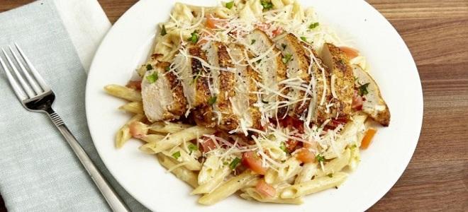 итальянская паста рецепты с курицей
