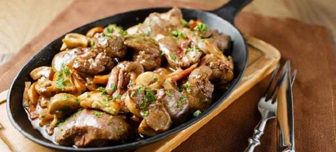Печень свиная - рецепты приготовления