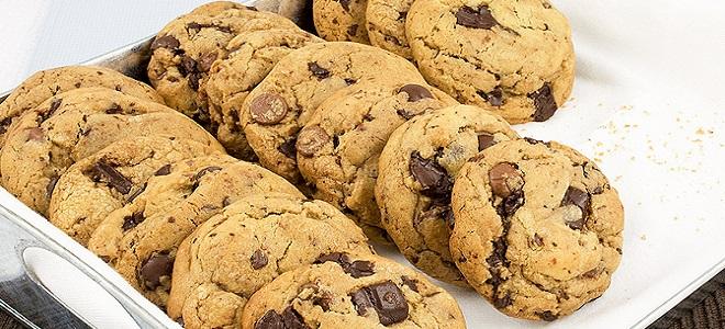 печенье американское с шоколадом рецепт с фото пошагово
