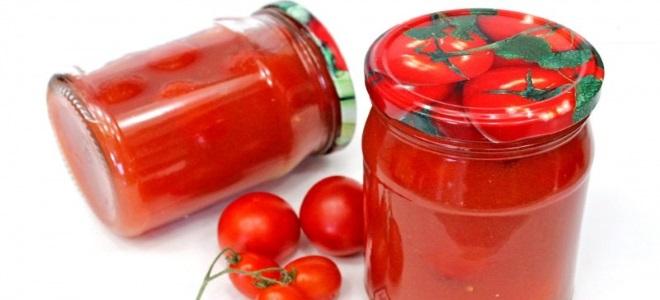 пикантные помидоры в собственном соку с хреном