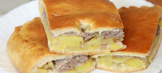 Осетинский пирог с курицей и грибами рецепт