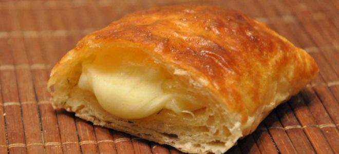 Слоеные пирожки с сыром и ветчиной рецепты 133