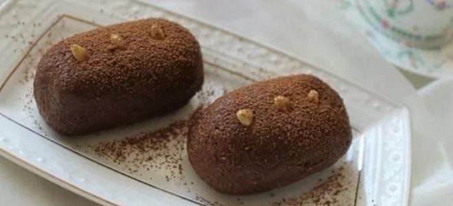 пирожное картошка эклеры рецепт