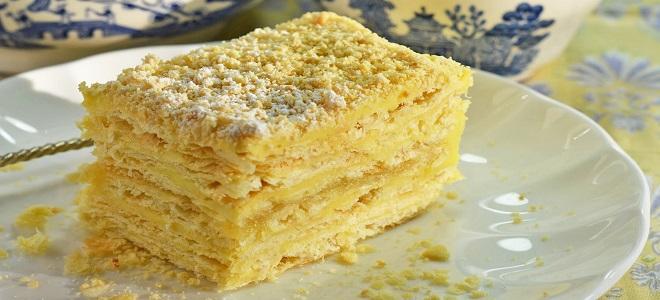 Пирожное Наполеон