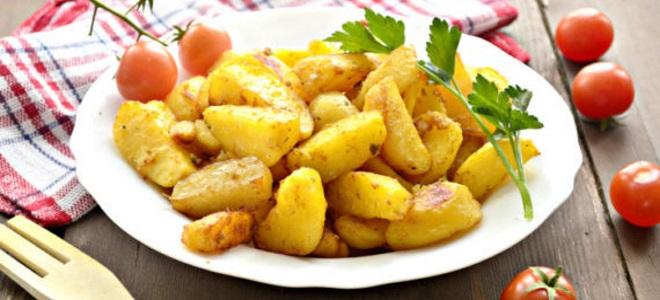 постное праздничное блюдо из картошки