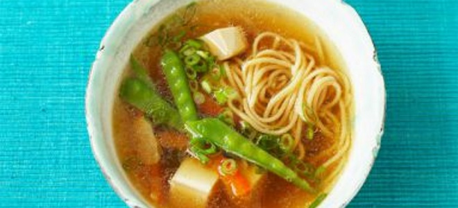 Постный суп с вермишелью