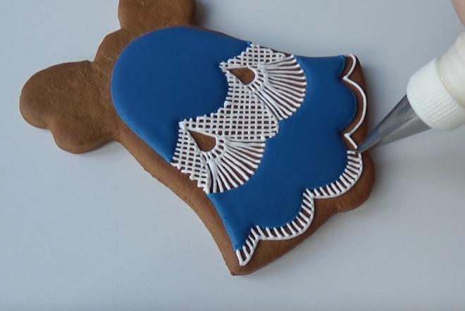 Пряник «Новогодний колокольчик»
