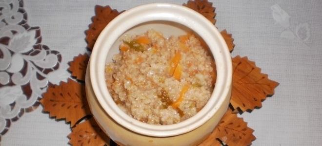 пшеничная каша в мультиварке на молоке и воде рецепт