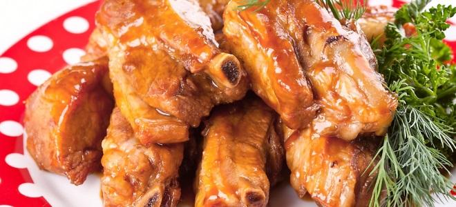Свиные ребрышки в духовке с картошкой в мультиварке рецепт 46