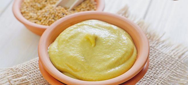 Рецепт горчицы из порошка с медом