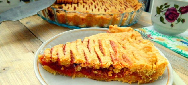 рецепт пирога с калиной из слоеного теста