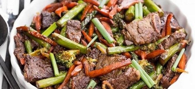 рагу с мясом картошкой и овощами рецепт