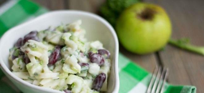 Салат из фасоли рецепт с очень вкусный красная