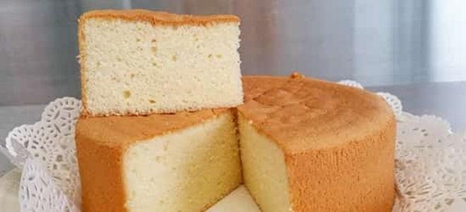 Вкусный бисквит для торта