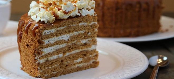 Рецепт торта Карамельная девочка
