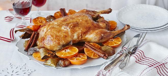 Рецепт утки на Новогодний стол