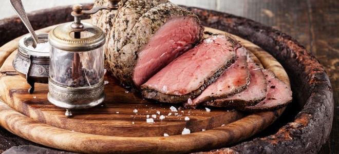 Маринад для ростбифа из говядины классический рецепт