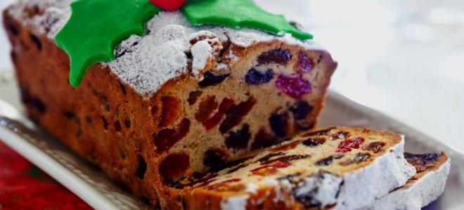 рождественский кекс в хлебопечке