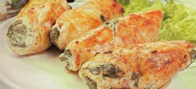 Фаршированное куриное филе рецепты с фото