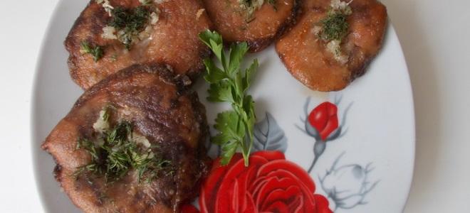 Рыжики жареные с чесноком - рецепт приготовления
