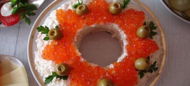 салат царский очень вкусный праздничный новогодний салат