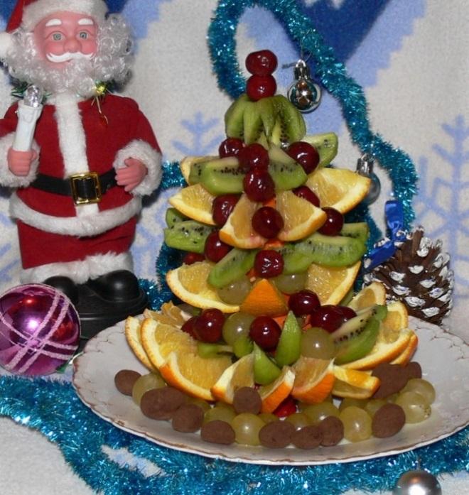 салат елочка на новый год 3