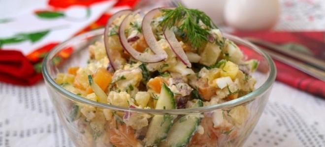 Салат из кальмаров копченых рецепт с очень вкусный
