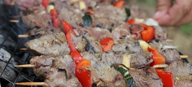 Шашлык из говядины - рецепты маринада с киви, уксусом, кефиром и соевым соусом