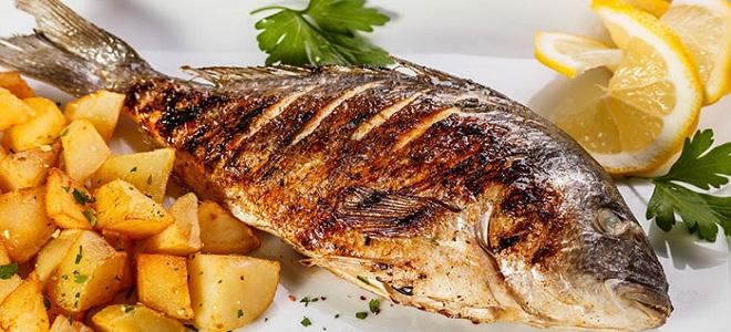 Шашлык из речной рыбы