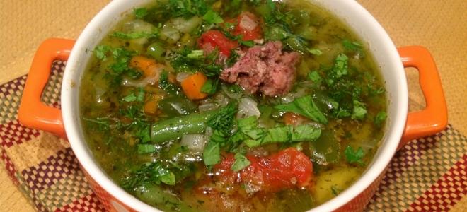 щавелевый суп с тушенкой рецепт