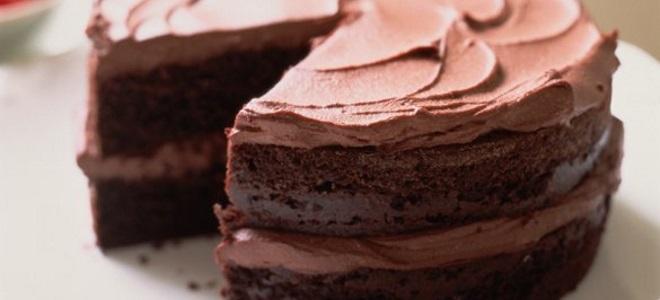 Шоколадно масляный крем для торта