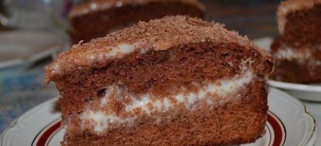 Торт сметанник шоколадный рецепт пошагово в домашних условиях