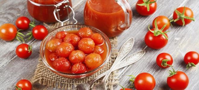 сладкие помидоры в собственном соку на зиму