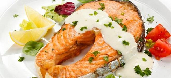 сливочно лимонный соус к рыбе