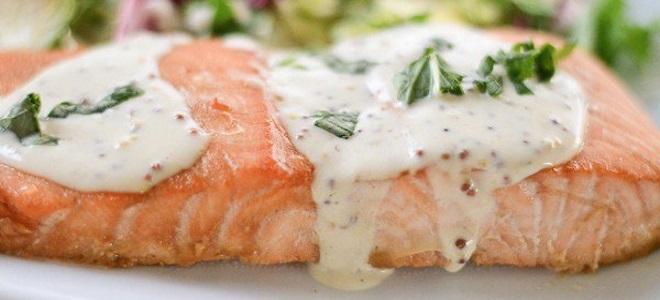 сливочно винный соус для рыбы