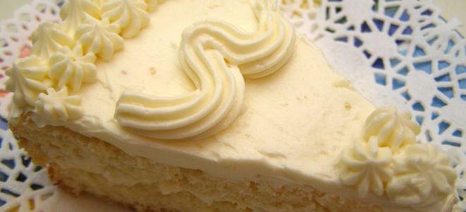 Крем сметанковый для торта
