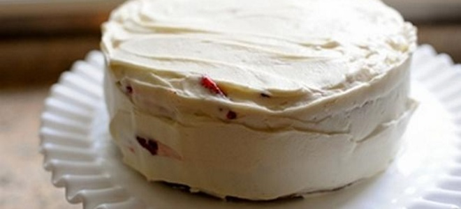 Сметанный крем для украшения торта