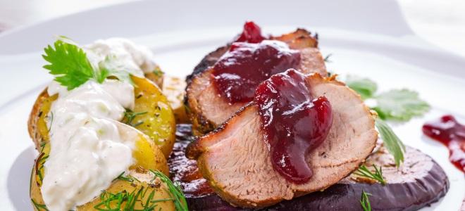 рецепт вкусной свинины соусе фото