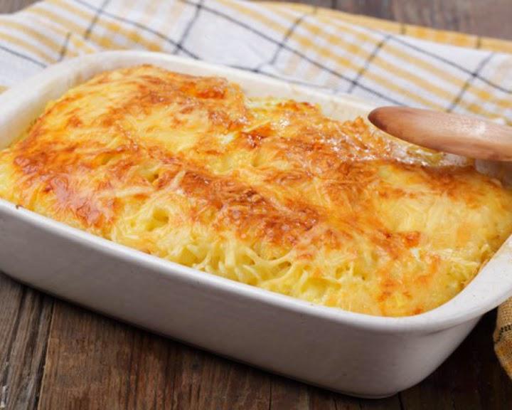 Приготовить запеканку из спагетти