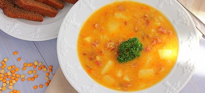 суп гороховый с рулькой копченой рецепт