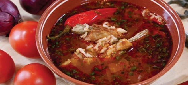 суп харчо из говядины рецепт