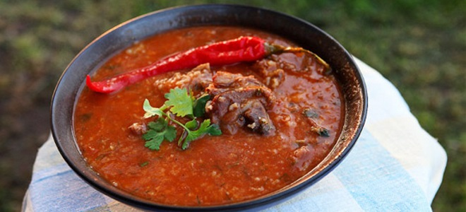 суп харчо из тушенки рецепт
